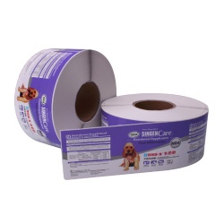 China Hangzhou Custom Adhesive Label in Roll