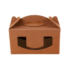 Collapsible Craft Cardboard Paper Box for Food Packaging